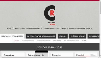 Site internet de Chateau Rouge