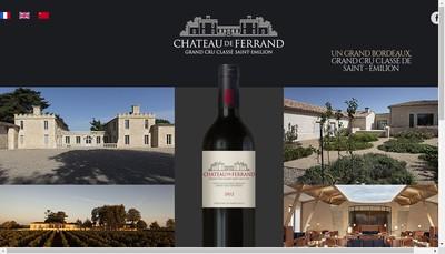 Site internet de Chateau de Ferrand