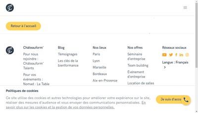 Site internet de Chateau de Mery