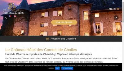 Site internet de Chateau des Comtes