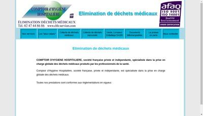 Site internet de Chh Environnement - Chh Services - C2H Environnement