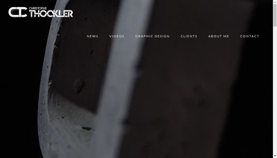 Site internet de Christophe Thockler