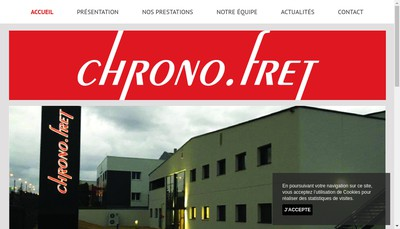 Site internet de Chrono Fret