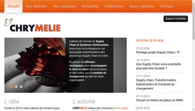 Site internet de Chrymelie