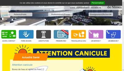 Site internet de Groupement d'Imagerie Medicale de l'Icg