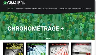 Site internet de Cimalp Communication SARL