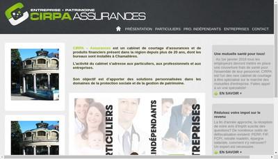 Site internet de Cirpa Assurances