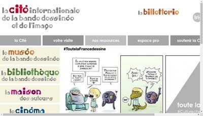 Site internet de Cite Internationale de la Bande Dessinee et de l'Image