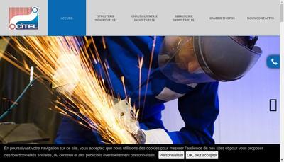 Site internet de Value Tube Service - Groupe Vts
