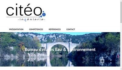 Site internet de Citeo Ingenierie