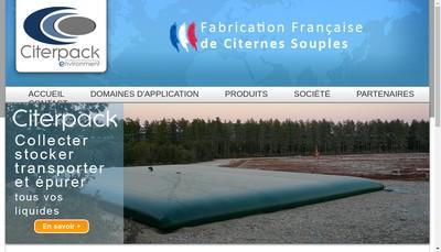 Site internet de Citerpack Environment