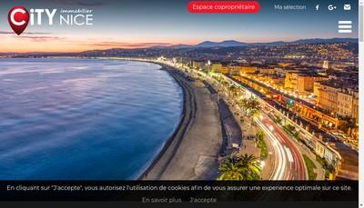 Site internet de City-Nice