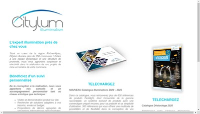 Site internet de City-Lum