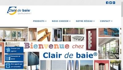 Site internet de Clair de Baie