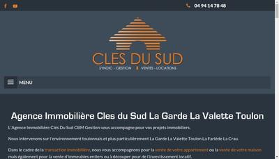 Site internet de Cles du Sud