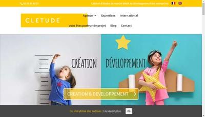 Site internet de Cletude