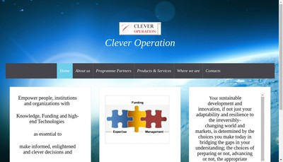 Site internet de Clever Operation