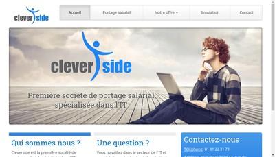 Site internet de Cleverside