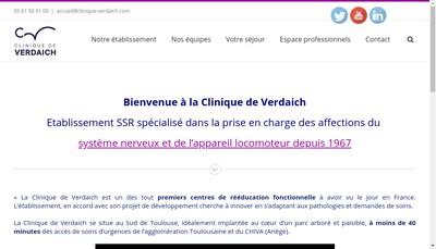 Site internet de Clinique de Verdaich