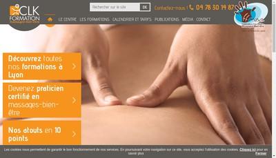 Site internet de Clk Mr Daulin