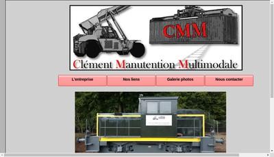 Site internet de Clement Manutention Multimodale