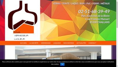 Site internet de Cna Decobois Cna Vernisseur Laqueur