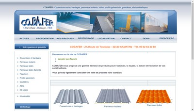Site internet de Cobafer