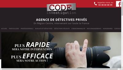Site internet de Code-Conseil Organis Defense Economique