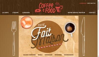 Site internet de Coffee And Food