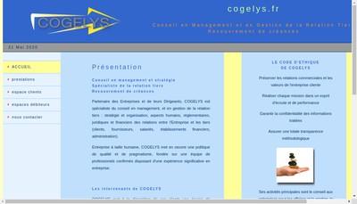 Site internet de Cogelys