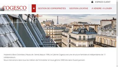 Site internet de Cogesco