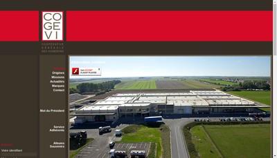 Site internet de Groupement des Vignerons Champenois