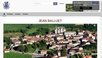 Site internet de Jean Balluet
