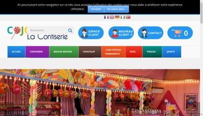 Site internet de M Confiseur - Munch