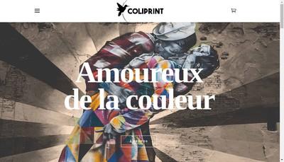 Site internet de Coliprint