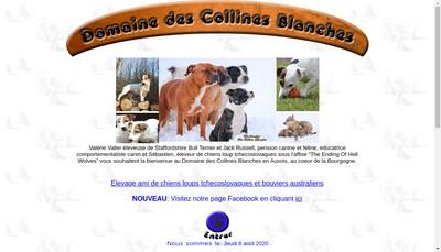 Site internet de Le Domaine des Collines Blanches