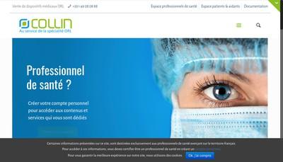 Site internet de Collin