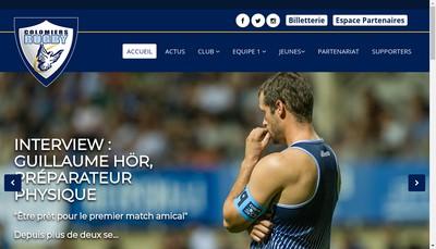 Site internet de Us Colomiers Rugby Pro