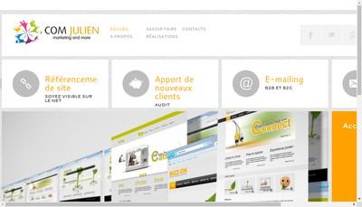 Site internet de Com Julien