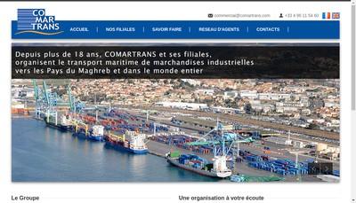 Site internet de Comartrans