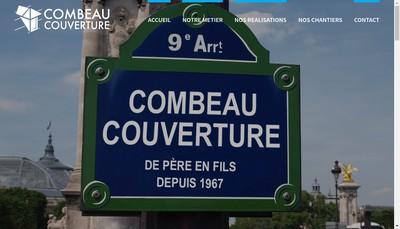 Site internet de Combeau Couverture