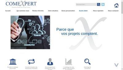 Site internet de Comexpert