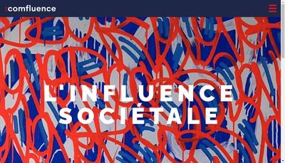 Site internet de Comfluence