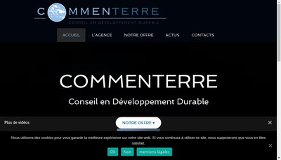 Site internet de Commenterre