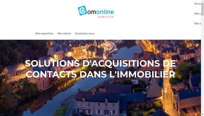 Site internet de Comonline