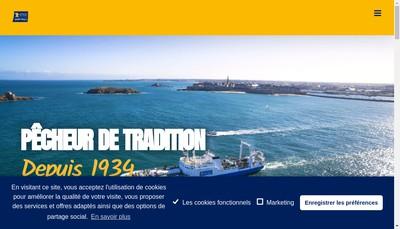 Site internet de Compagnie des Peches Distribution