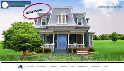 Site internet de Compagnie Privee