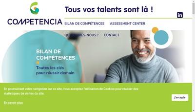 Site internet de Carrieres Conseil Consultants