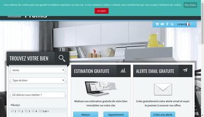 Site internet de Dupont & Poissant Conseil Immobilier