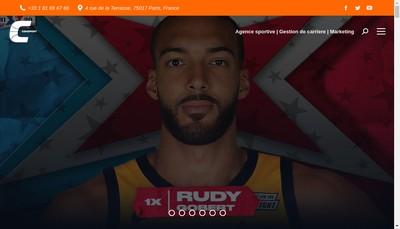 Site internet de Comsport